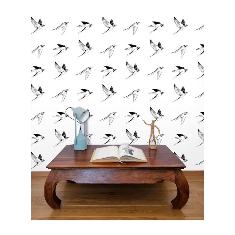 Flying Bird outline
